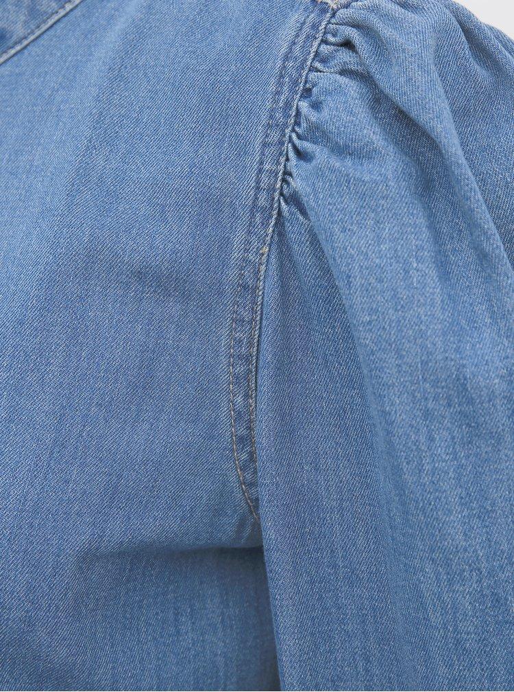 Modrá džínová halenka Noisy May Linda