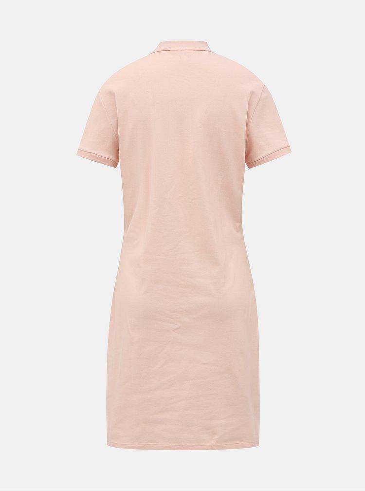 Rochii pentru femei Lacoste - roz deschis