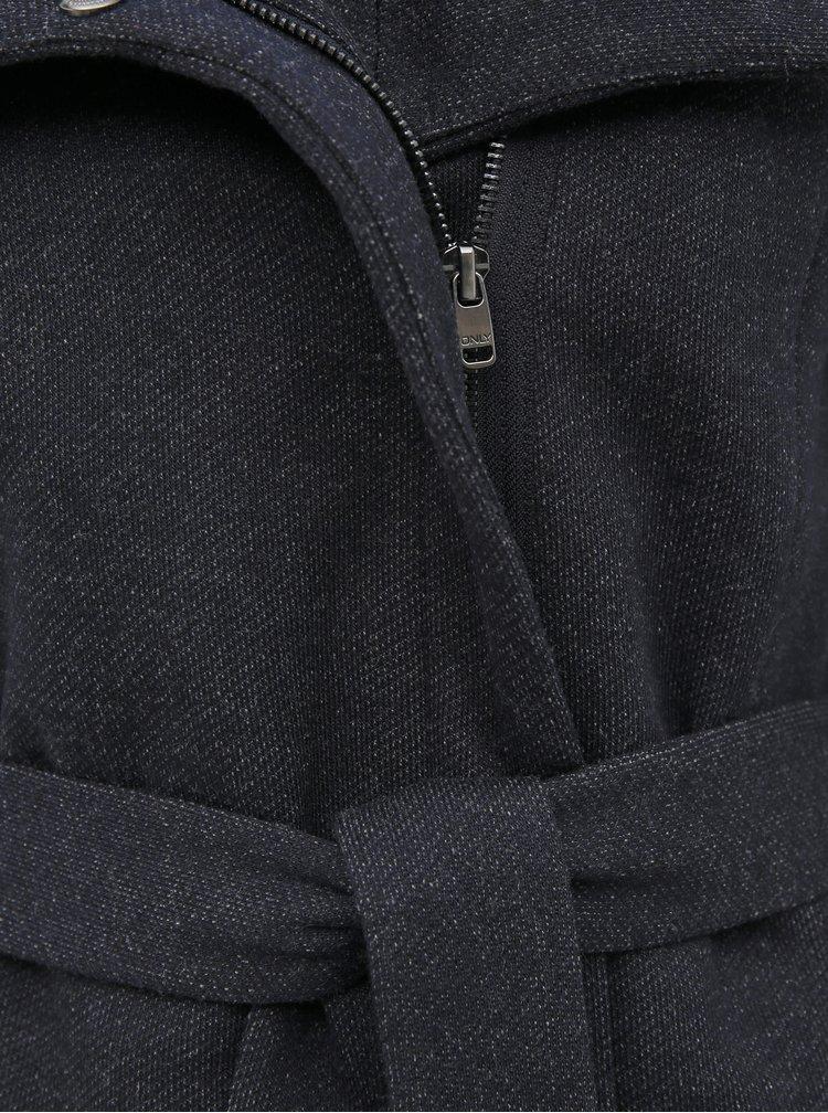 Tmavě modrý kabát ONLY Lelli