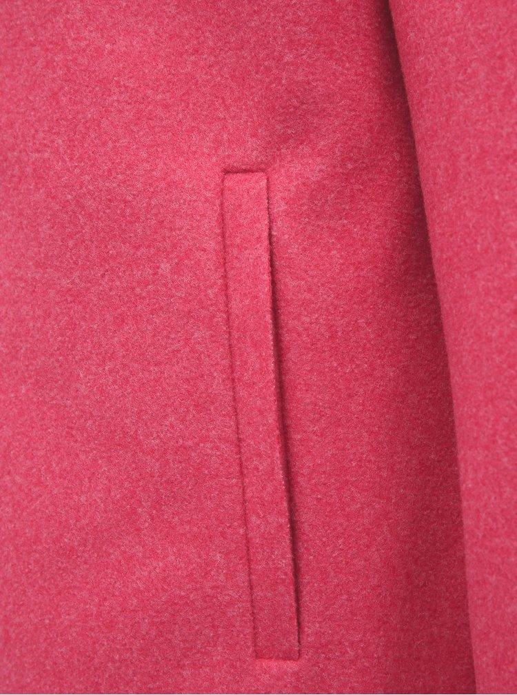 Růžový lehký kabát ONLY Carrie