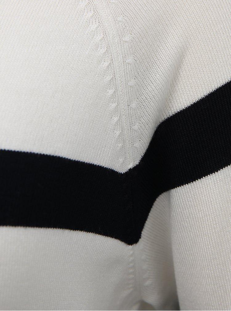 Modro-bílý pruhovaný basic svetr ONLY Selena