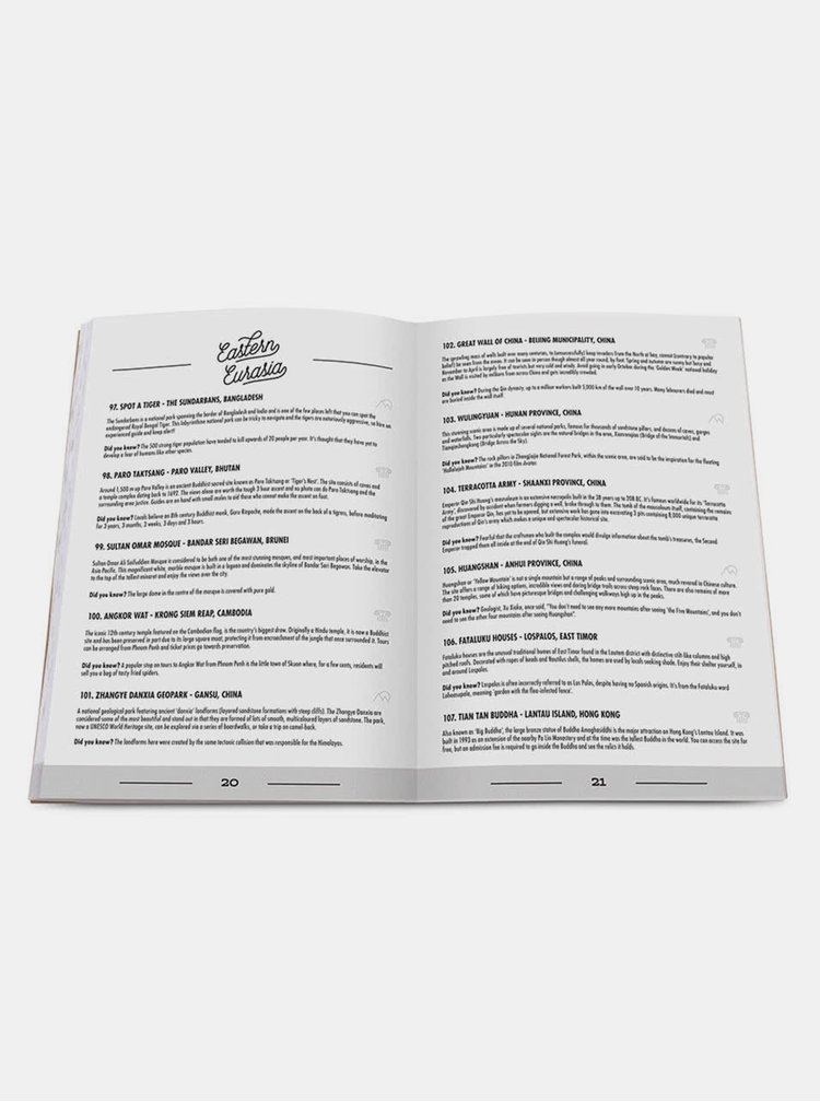 Pachet cu jurnal de calatorie si mini-harti razuibile Luckies