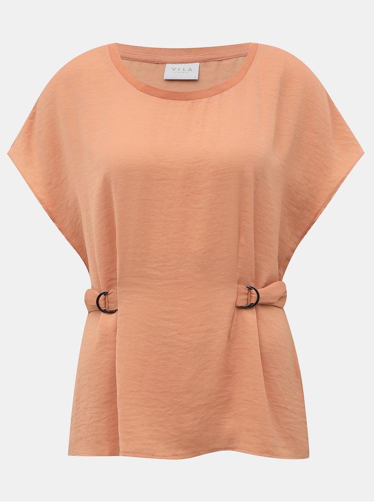 Tricouri pentru femei VILA - roz