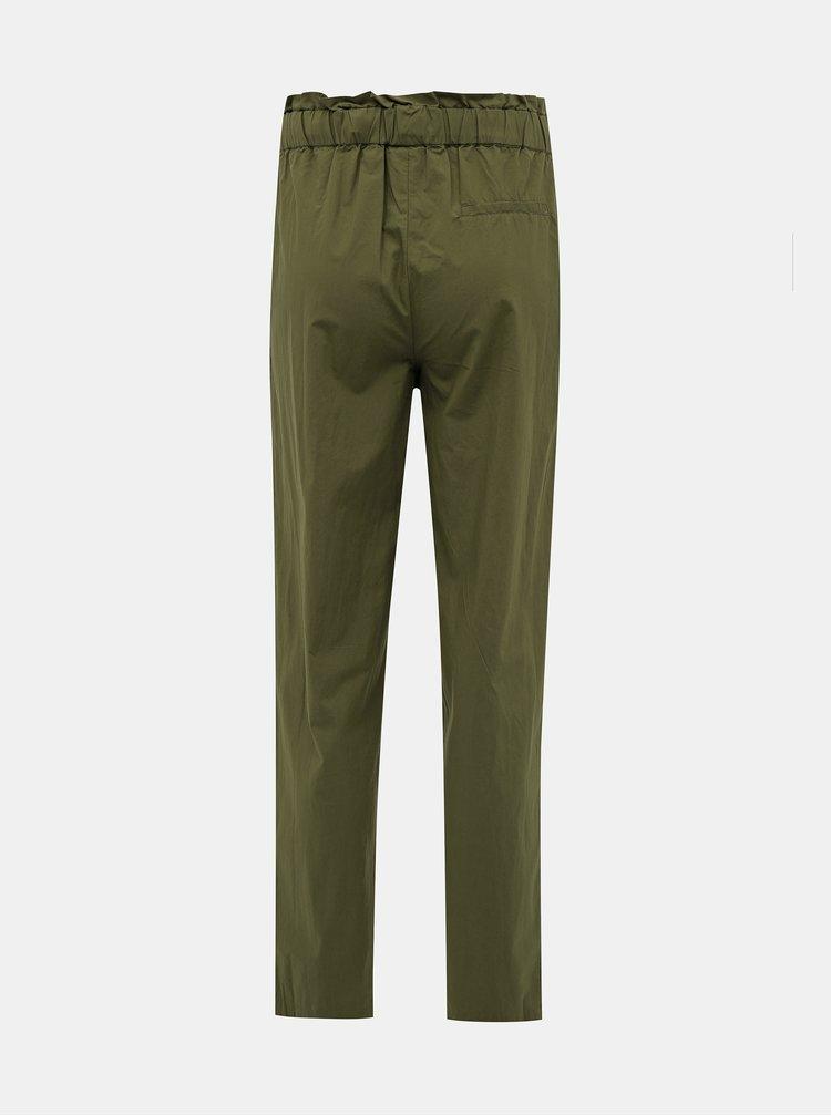 Pantaloni chino pentru femei VILA - verde