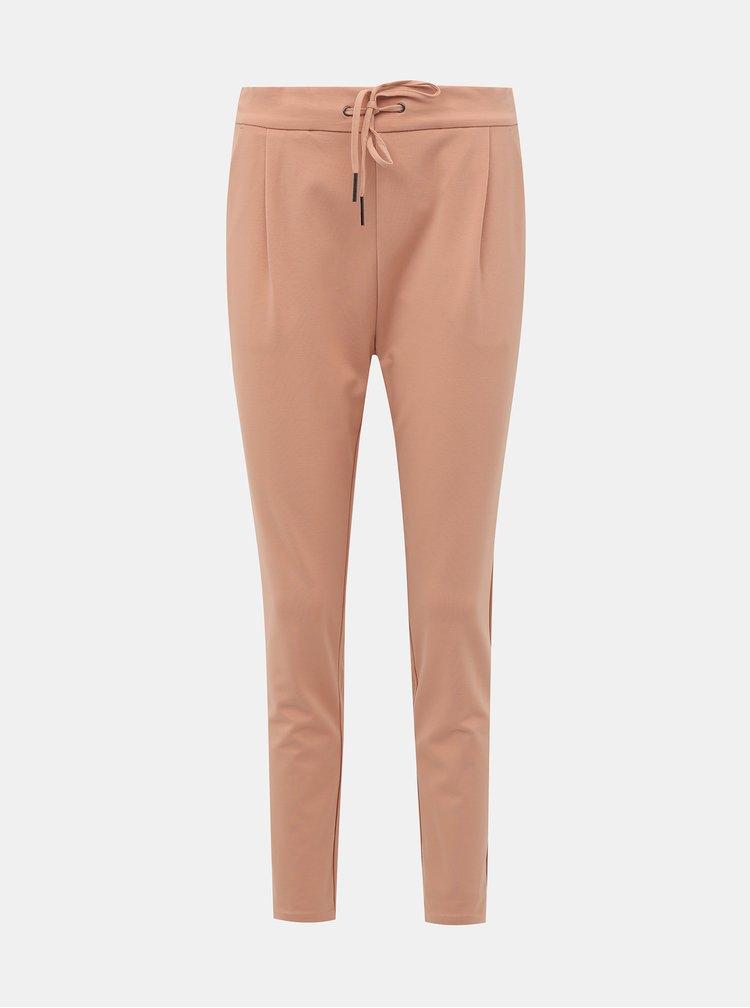 Pantaloni chino pentru femei VERO MODA - roz