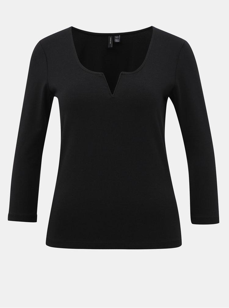 Čierne tričko Vero Moda Nelly