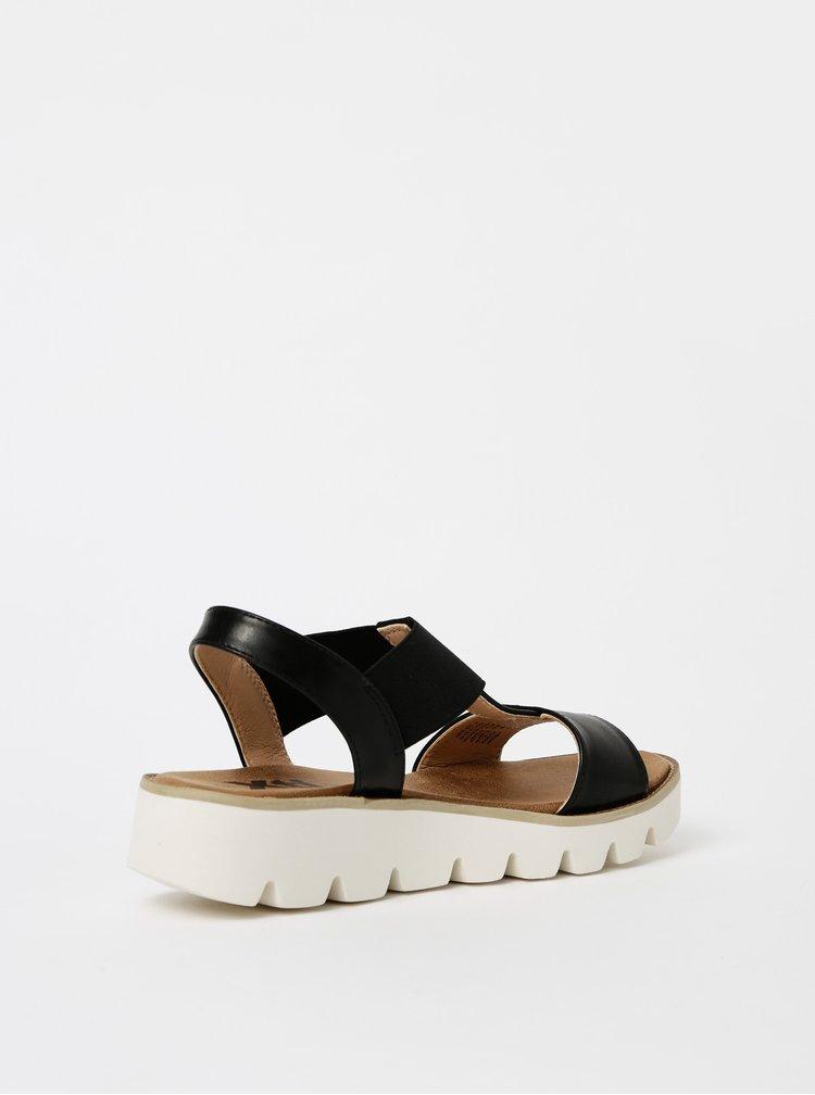 Černé dámské sandály Xti
