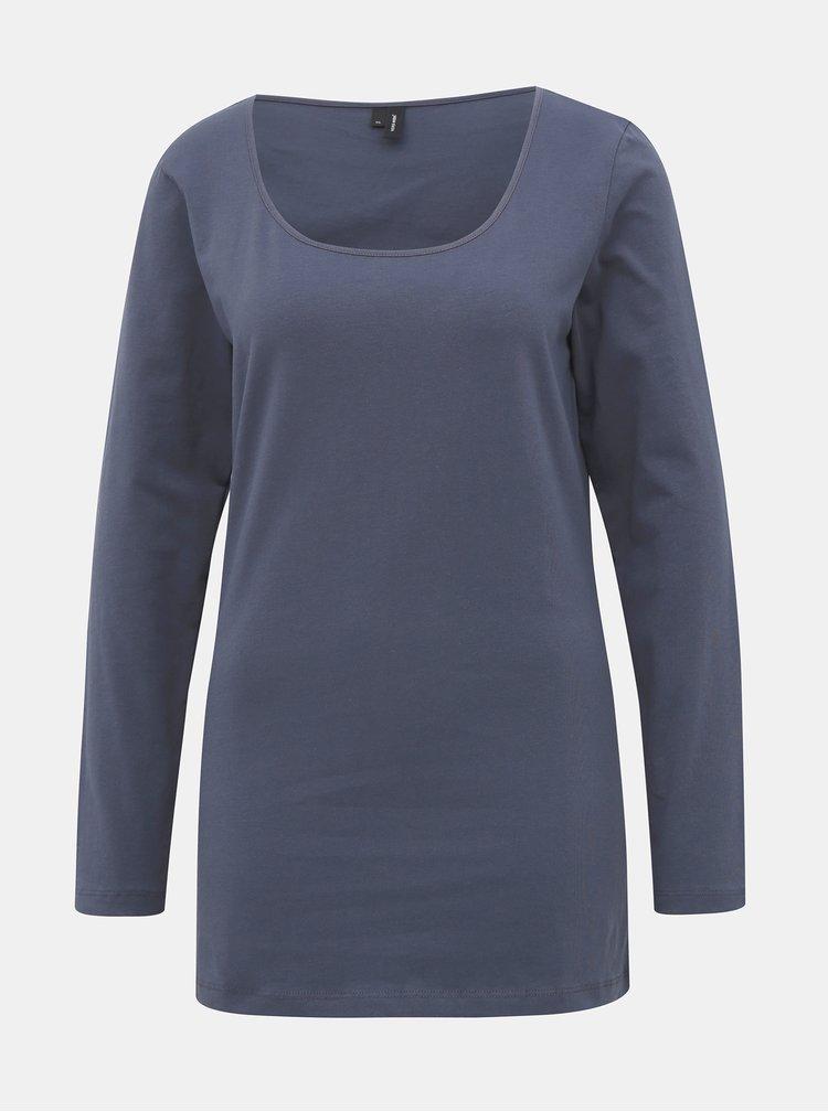 Tmavě modré basic tričko VERO MODA
