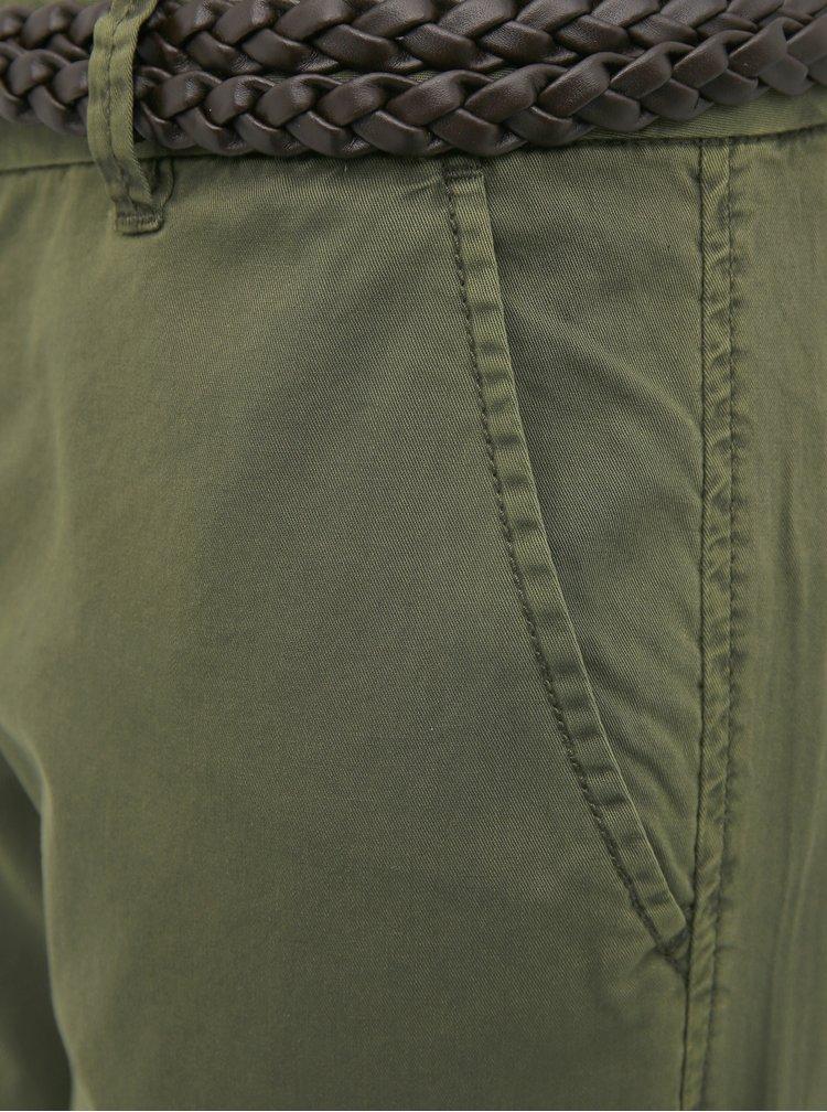 Khaki kalhoty VERO MODA