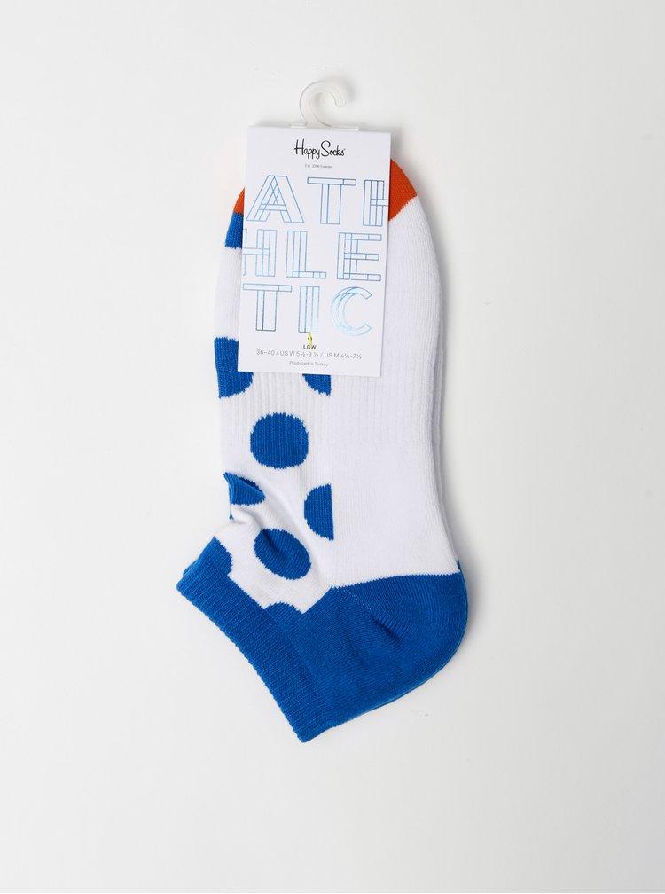 Sosete pentru femei Happy Socks - alb