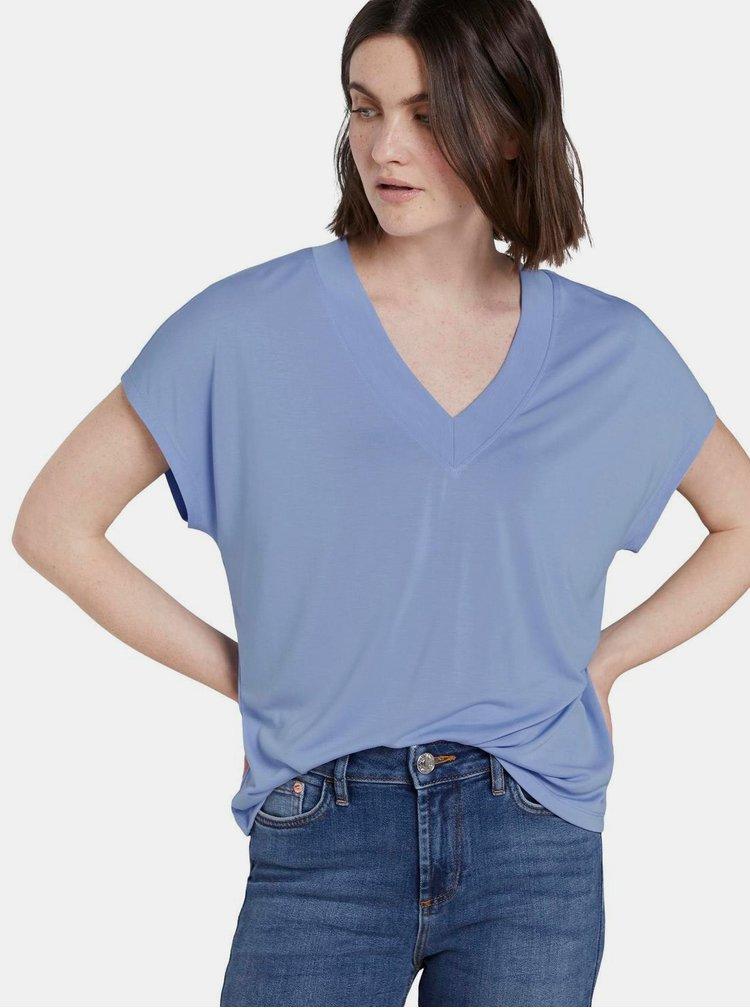 Světle modré dámské tričko Tom Tailor