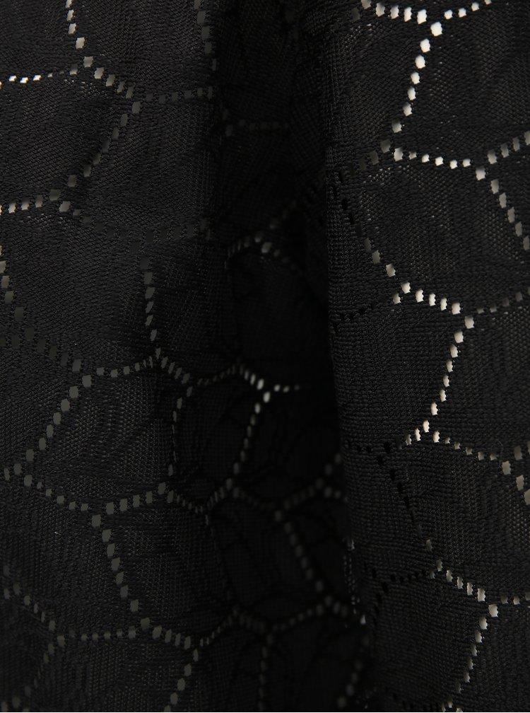 Černý vzorovaný kardigan Jacqueline de Yong Tag