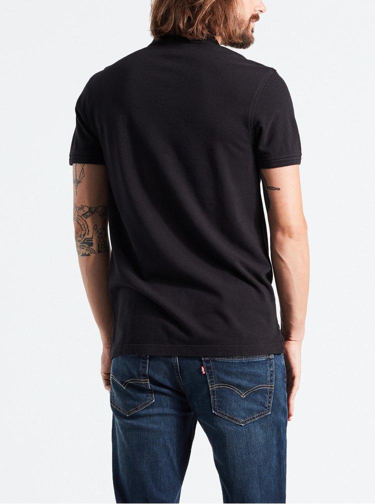 Černé pánské basic polo tričko Levi's®