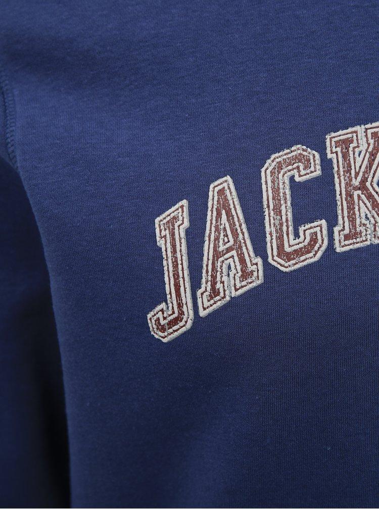 Pulovere fara gluga pentru barbati Jack & Jones - albastru