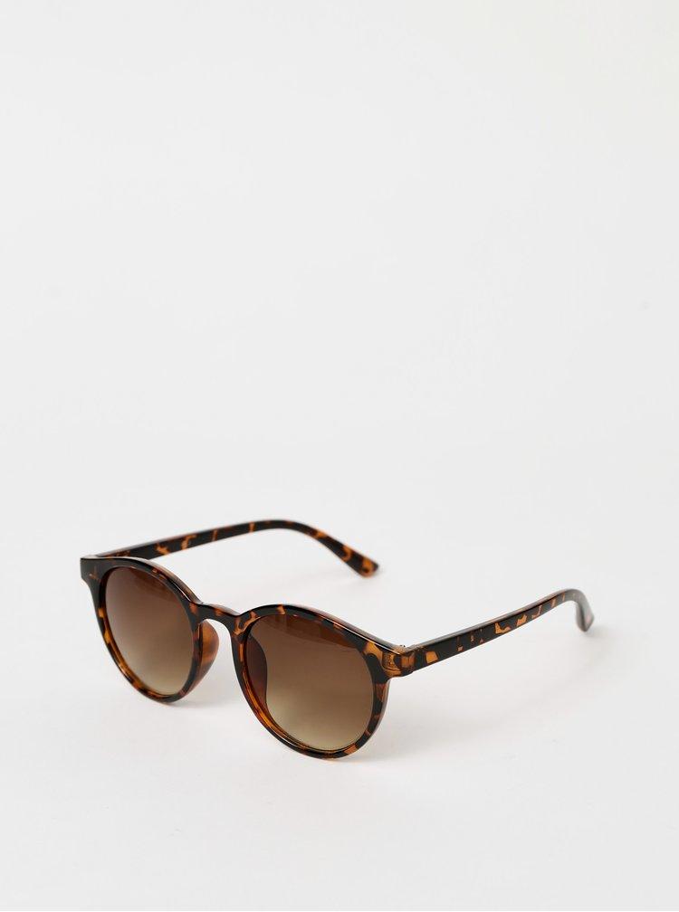 Hnědé vzorované sluneční brýle Haily´s Sonni