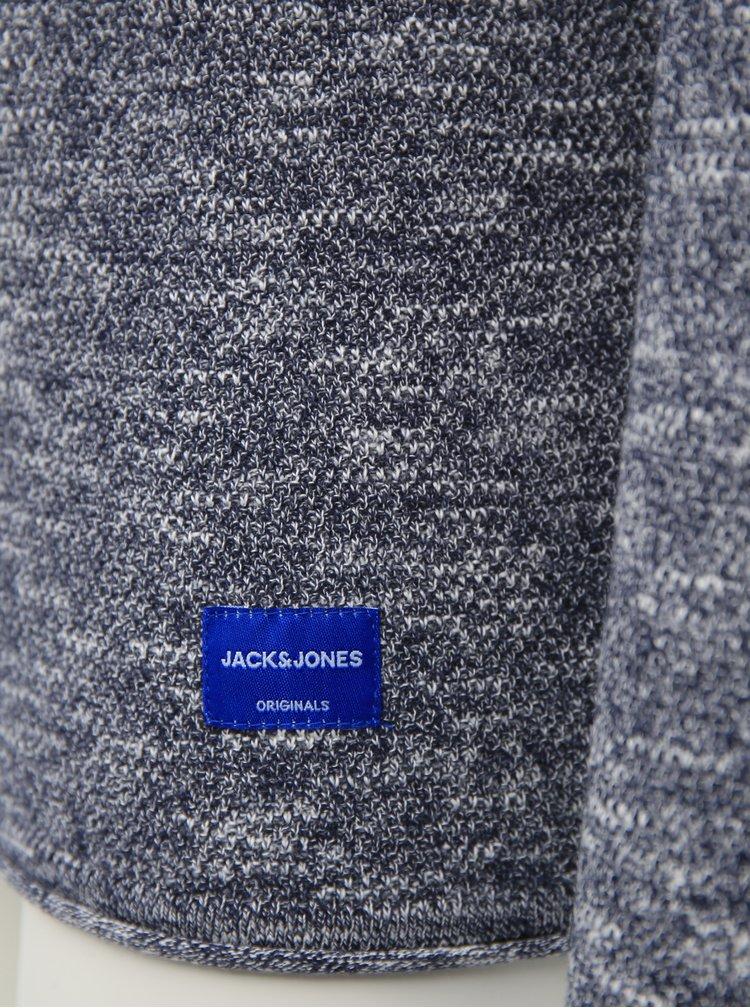 Modrý žíhaný svetr Jack & Jones Nelson