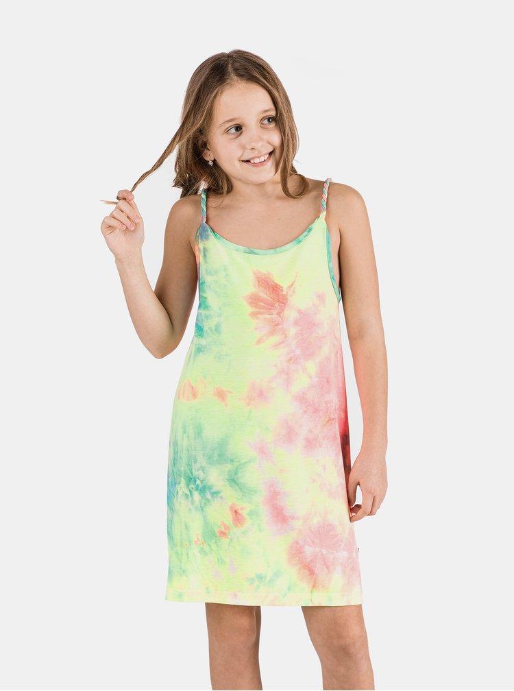 Modro-růžové holčičí šaty SAM 73
