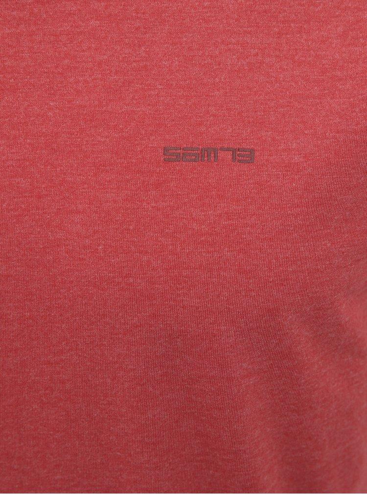 Červené pánské basic tričko SAM 73