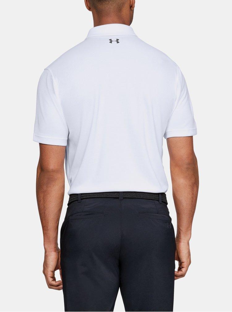 Bílé pánské polo tričko Under Armour