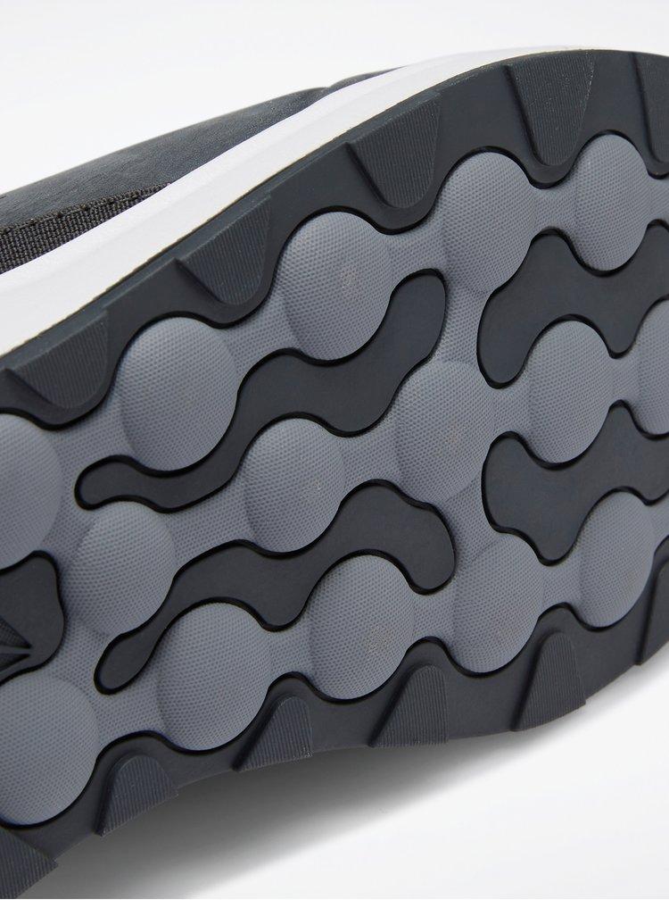 Tmavě šedé pánské kožené tenisky Reebok Ever Road