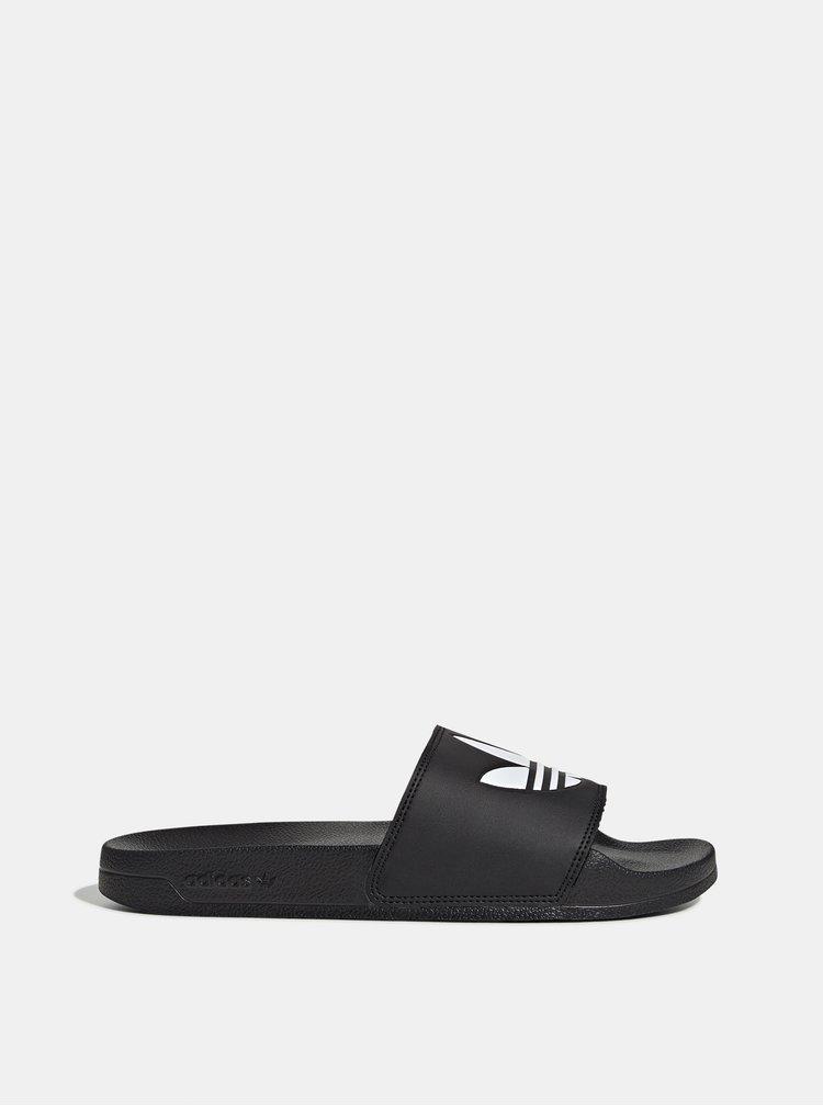 Černé pantofle adidas Originals
