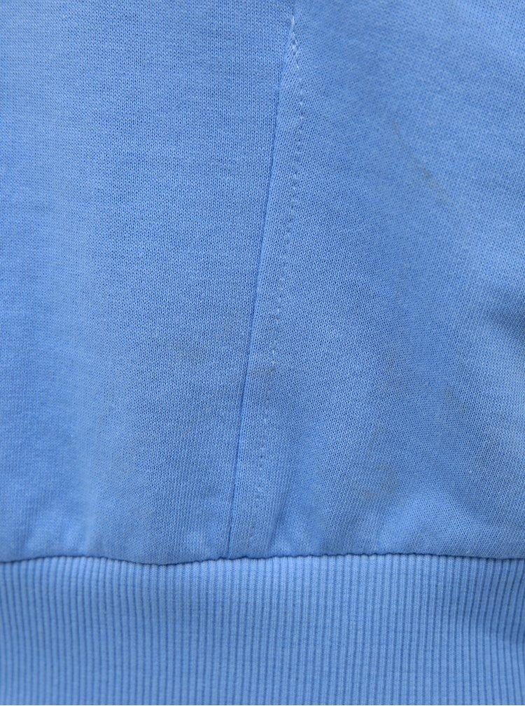 Modrá dámska krátka mikina Alcott