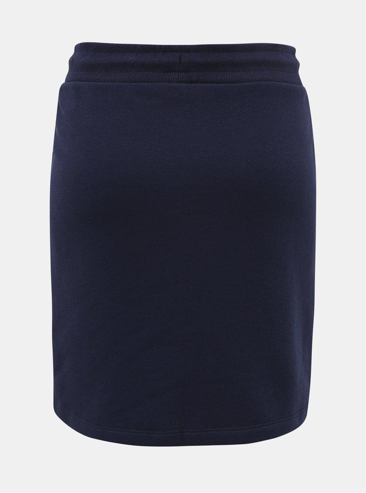 Tmavě modrá basic sukně GANT