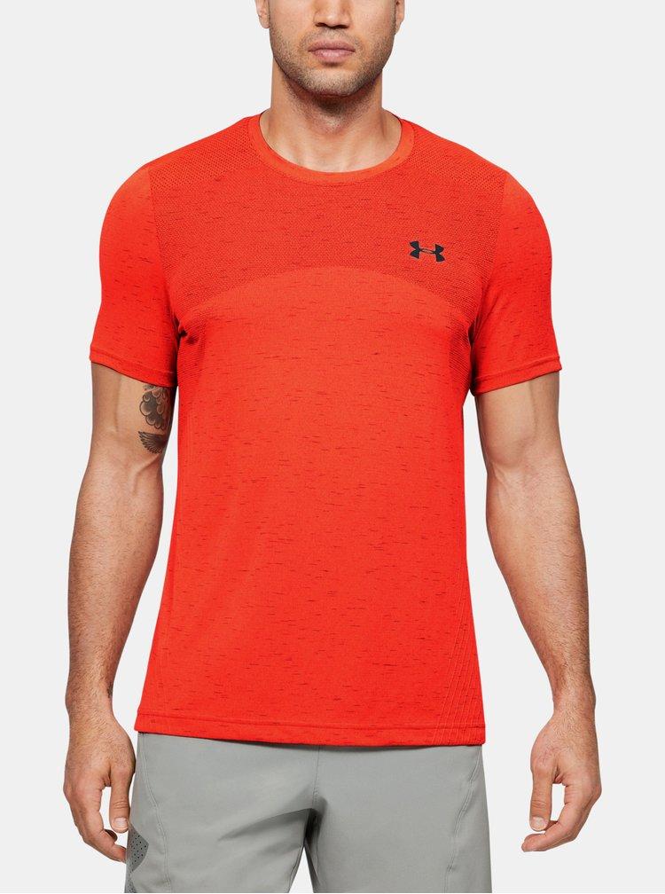 Červené pánské tričko Seamless Under Armour
