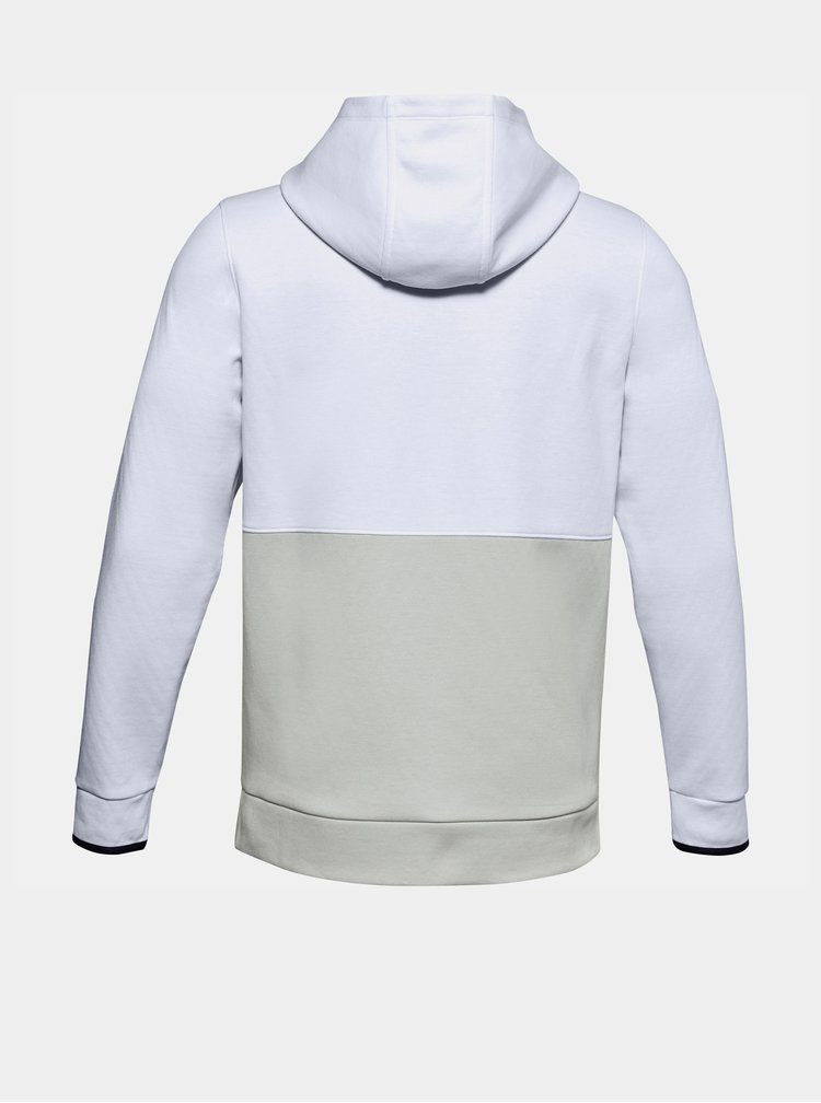 Bílá pánská mikina Athlete Recovery Fleece Under Armour