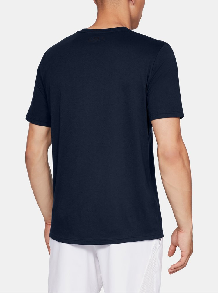 Tmavě modré pánské tričko Big Under Armour