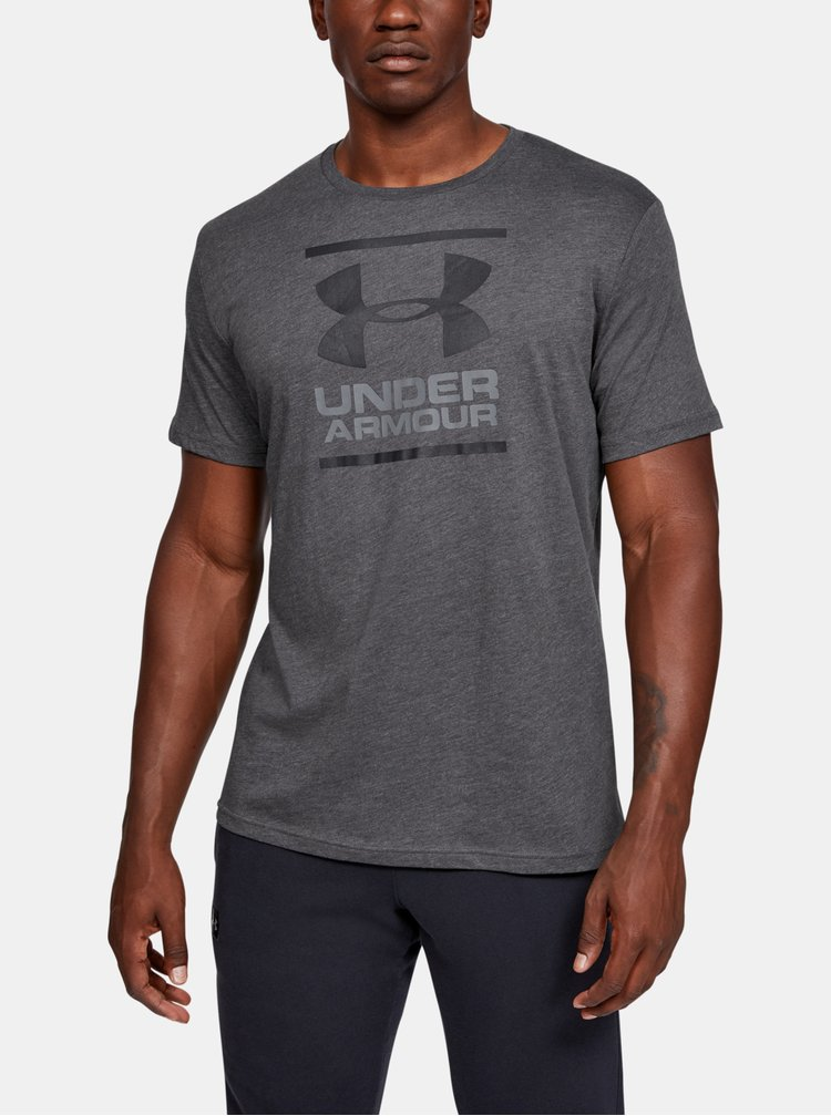 Šedé pánské tričko Foundation Under Armour