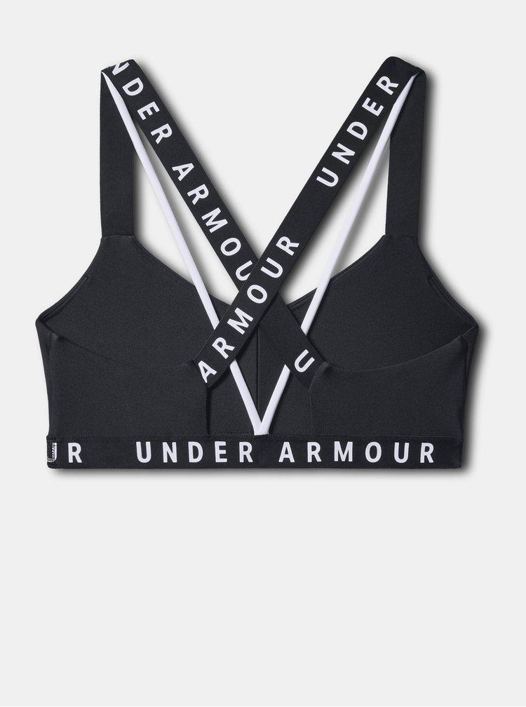 Černá sportovní podprsenka Wordmark Under Armour