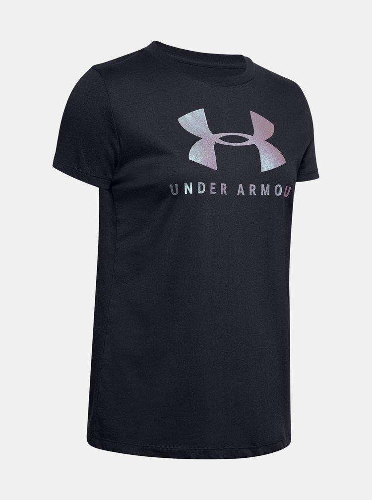 Černé dámské tričko Under Armour