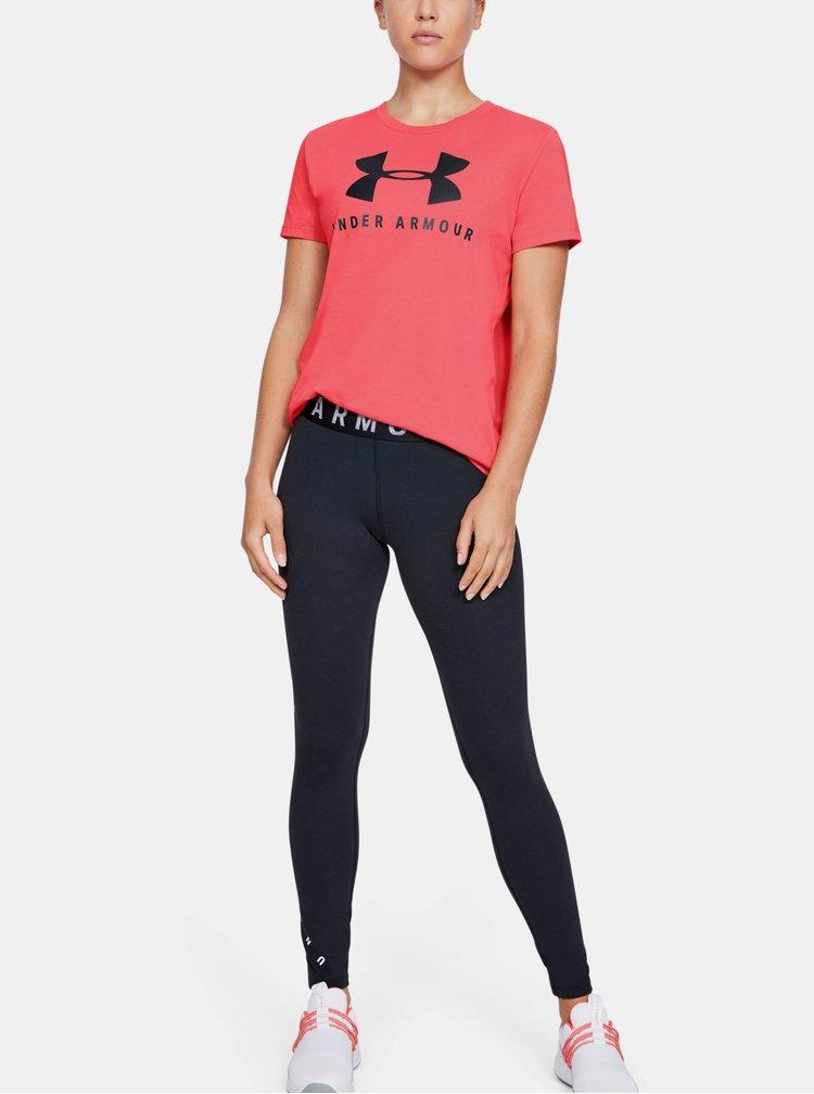 Červené dámské tričko Under Armour