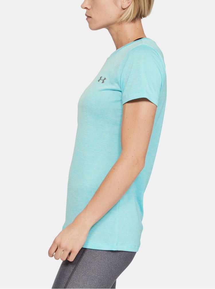 Modré dámské tričko Twist Under Armour