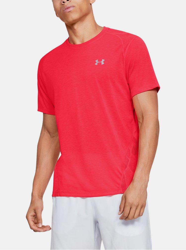 Červené pánské tričko Streaker Under Armour
