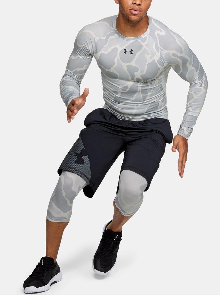 Bílé pánské kompresní tričko HeatGear Under Armour