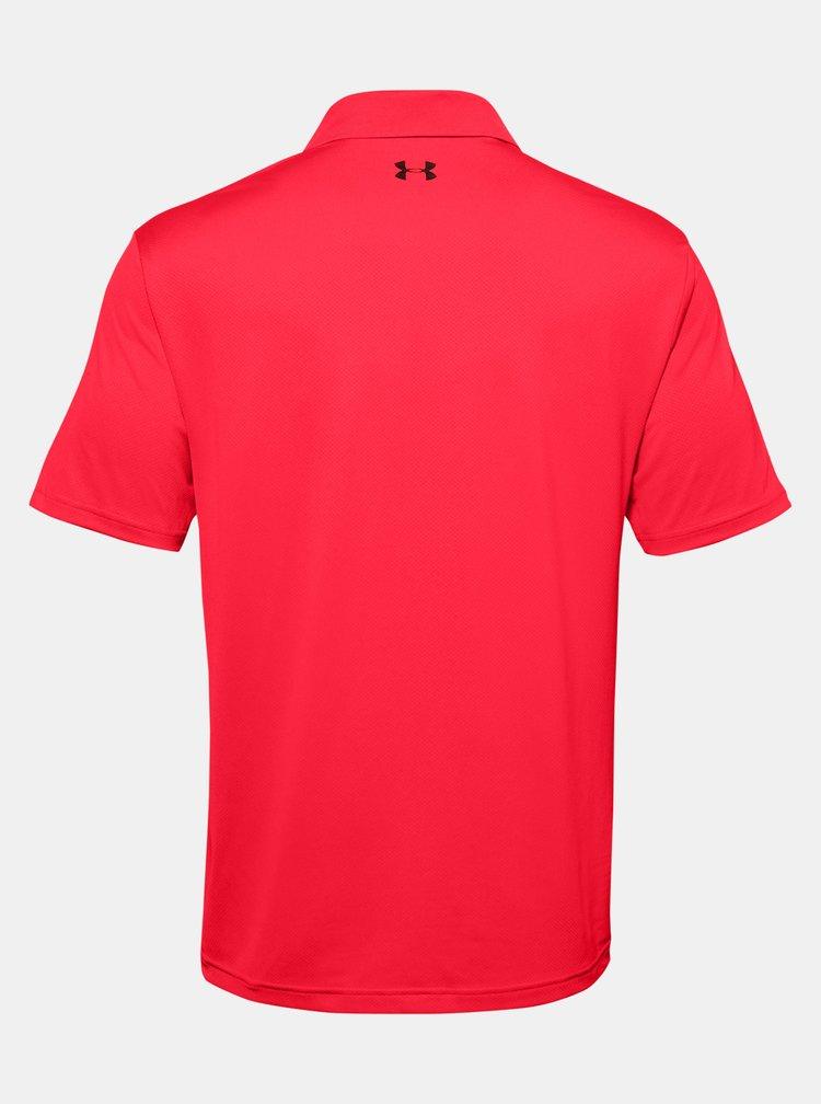 Červené pánské polo tričko Performance Under Armour
