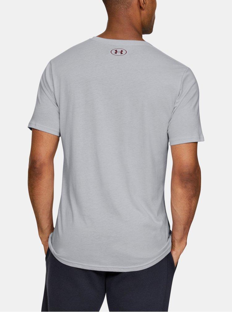 Šedé pánské tričko Sportstyle Under Armour