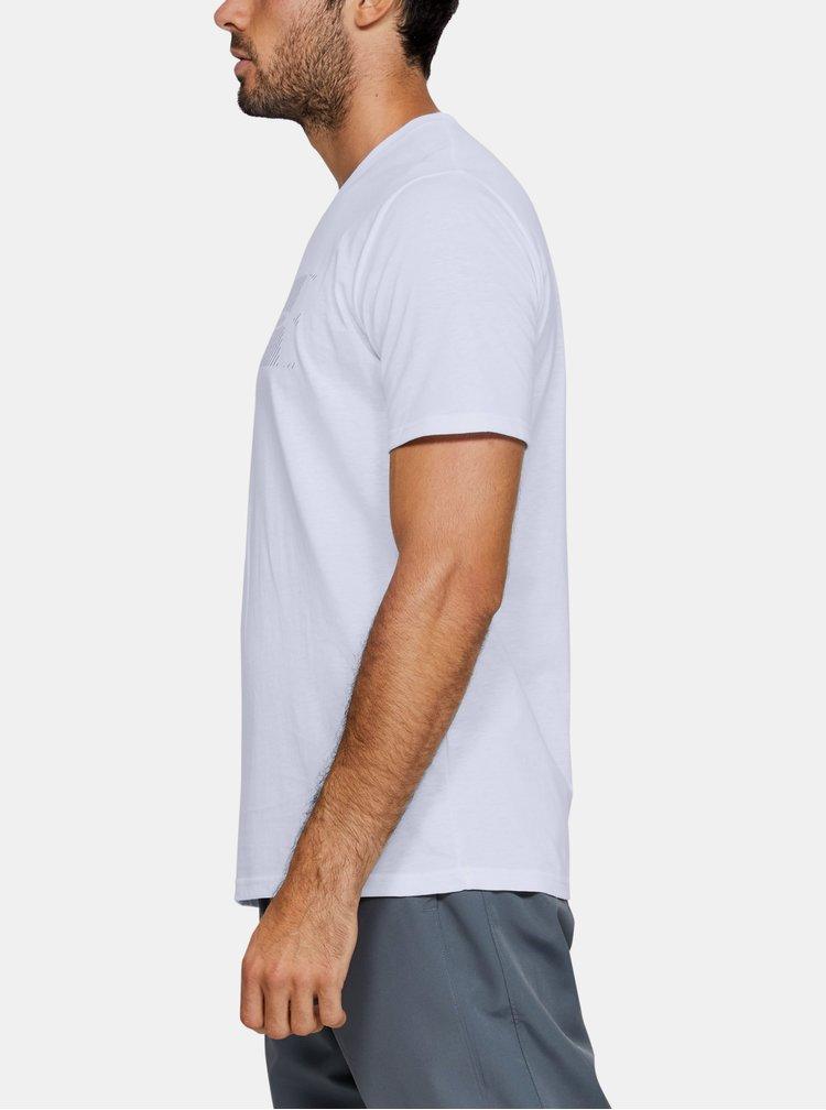 Bílé pánské tričko Fast Under Armour