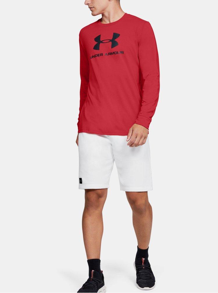 Červené pánské tričko Sportstyle Under Armour