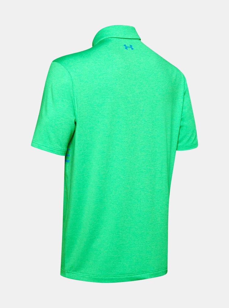 Zelené pánské polo tričko Playoff Under Armour