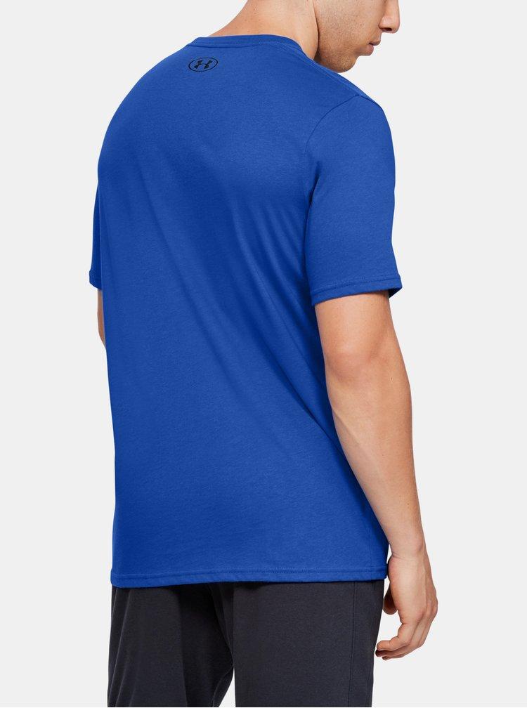 Modré pánské tričko Under Armour