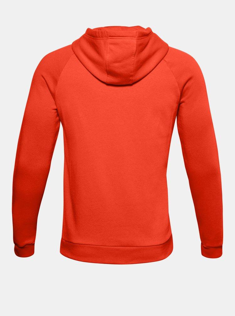 Oranžová pánská mikina Rival Fleece Under Armour