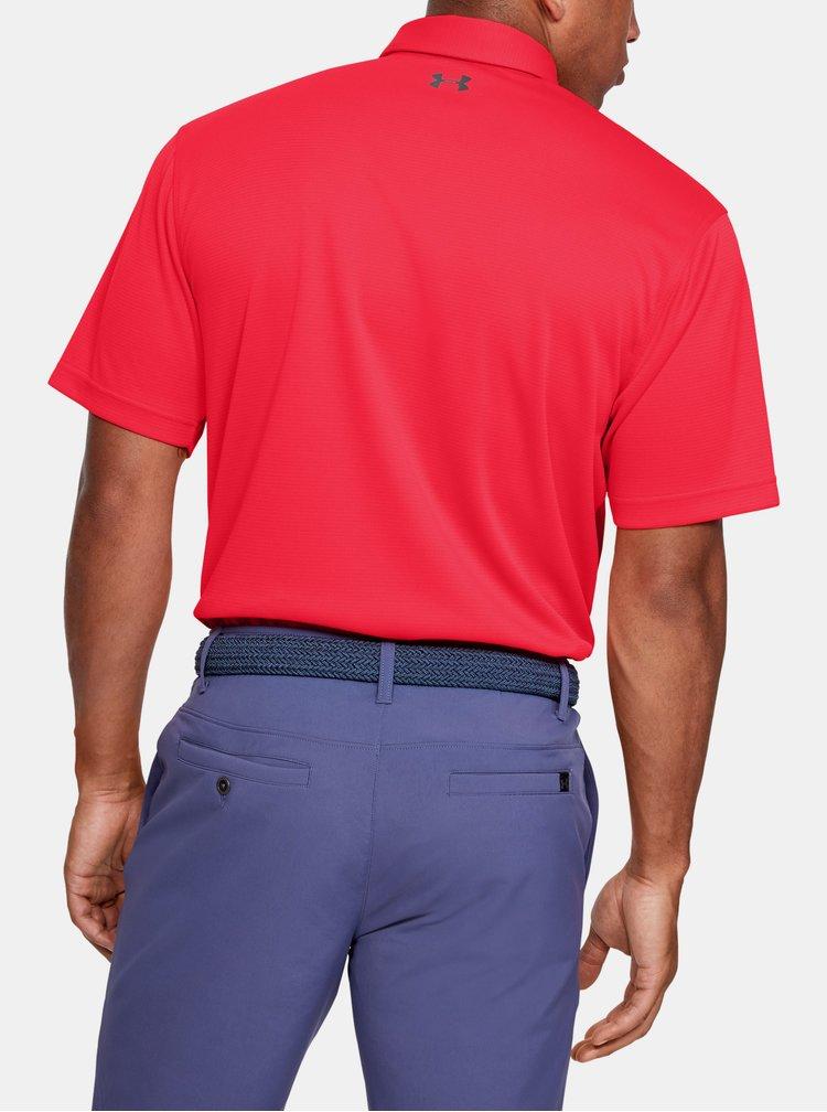 Červené pánské polo tričko Under Armour