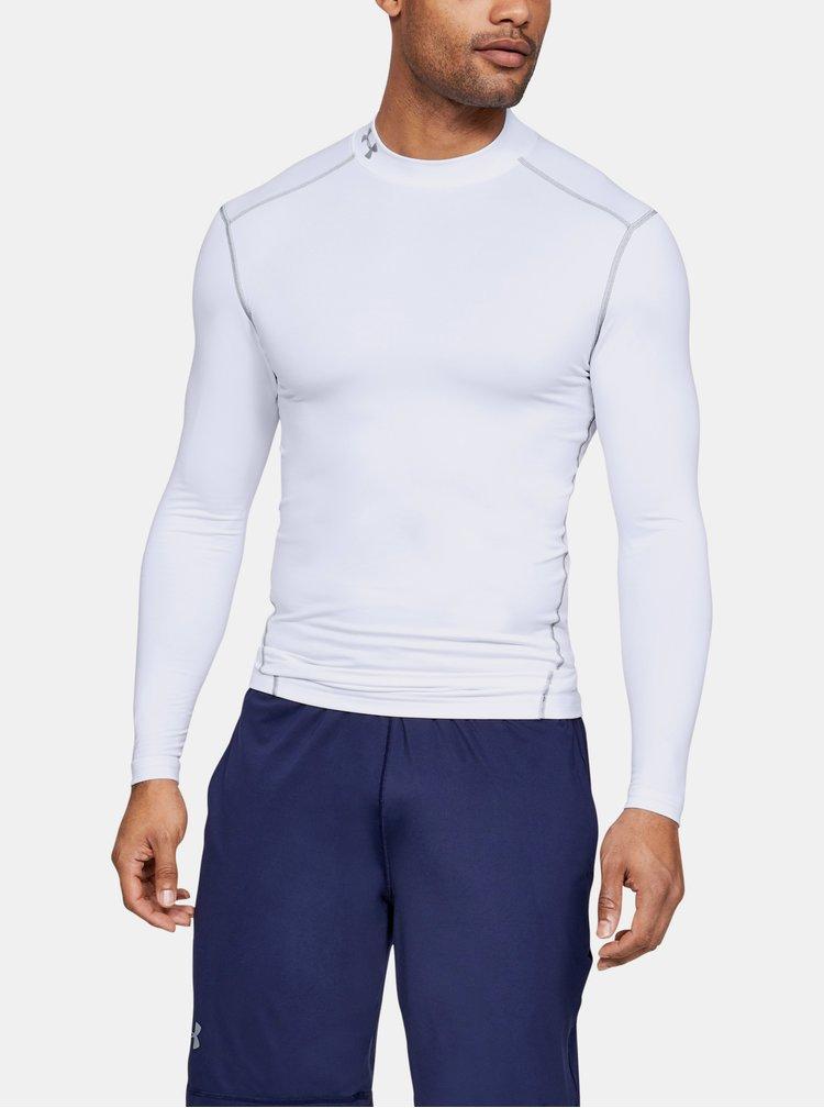 Bílé pánské tričko Mock Under Armour