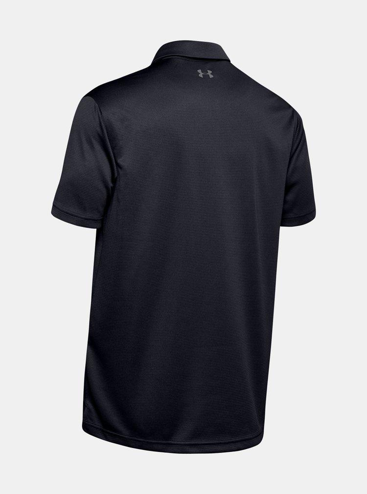 Černé pánské polo tričko Under Armour