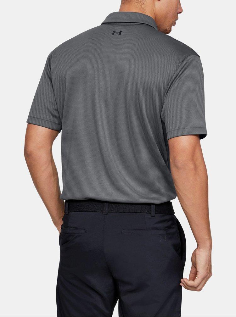 Šedé pánské polo tričko Under Armour