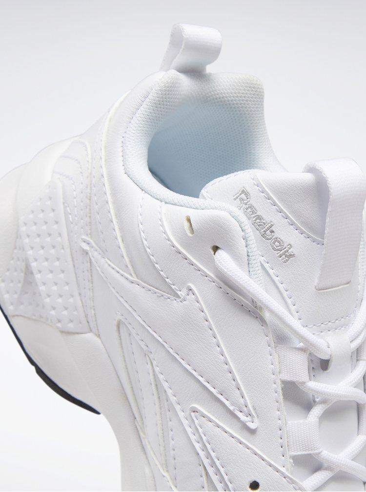 Bílé dámské kožené tenisky Reebok Classic Aztrek Double