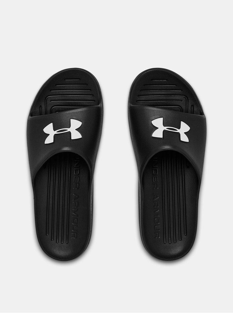 Černé pánské pantofle Core Under Armour